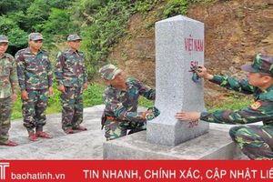 CBCS biên phòng Hà Tĩnh vượt gian khổ bảo vệ biên cương