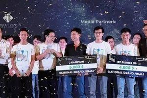Dự án 'Tổng đài ảo thông minh' chiến thắng Hackathon Vietnam AI Grand Challenge 2019
