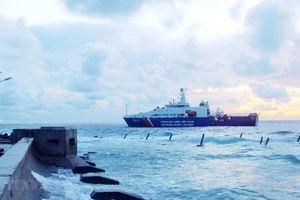 Cảnh sát biển Việt Nam giữ gìn an ninh, chủ quyền biển đảo