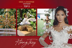 H'Hen Niê muốn Hoàng Thùy giật giải National Costume Miss Universe: Đã thi là phải thắng!