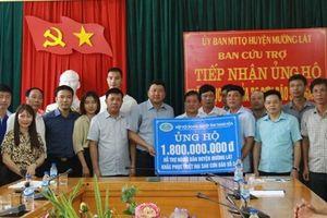 Thanh Hóa: Trao 1,8 tỷ đồng hỗ trợ đồng bào vùng lũ Mường Lát