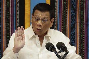 Ông Duterte: Tàu vào lãnh hải Philippines phải xin phép