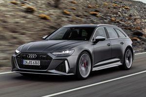 Audi RS 6 Avant 2020 sắp ra mắt, trông bình thường nhưng 'cực mạnh'