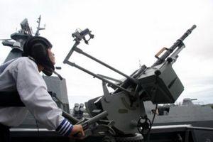 Sức mạnh thực sự của súng máy 14,5mm trên chiến hạm 016 Quang Trung