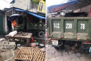 Quảng Ninh: Xe tải mất lái lao lên vỉa hè tông 3 người thương vong