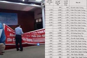 Nam Định: Khởi tố nhân viên ngân hàng ngụy tạo hồ sơ chiếm đoạt 16 tỷ đồng chơi lô đề, cá độ