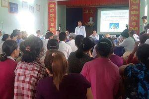 Quảng Nam: Đối thoại không tìm được tiếng nói chung vụ dân ngăn cản thi công lò đốt rác