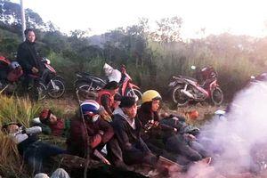Cả trăm người xâm nhập trái phép Vườn quốc gia Bidoup - Núi Bà