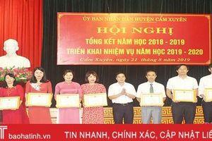 Các địa phương ở Hà Tĩnh triển khai nhiệm vụ năm học mới 2019 - 2020