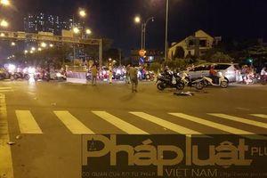 TP HCM: 2 người thương vong sau va chạm xe máy