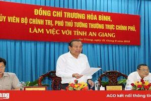 Phó Thủ tướng Thường trực Chính phủ Trương Hòa Bình: Sạt lở trên tuyến QL.91 là diễn biến thiên tai nguy hiểm…