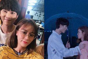 MisThy khiến fan phát sốt vì nụ hôn lãng mạn với thành viên nhóm Uni5