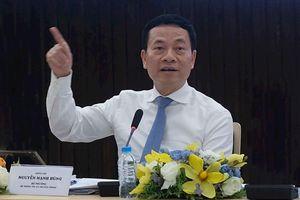 Bộ trưởng Nguyễn Mạnh Hùng: 'Cơ quan nhà nước nên đi đầu trong việc ứng dụng cơ chế Sandbox'