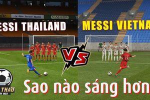 Thái Lan - Việt Nam chưa đá, Quang Hải và Chanathip đã 'đấu'