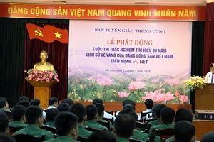 Phát động cuộc thi 'Tìm hiểu 90 năm lịch sử vẻ vang của Đảng Cộng sản Việt Nam'
