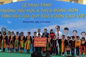 Chủ tịch Quốc hội Nguyễn Thị Kim Ngân dự lễ trao tặng trường học 8,3 tỷ đồng