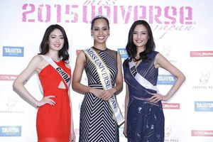 Rất nhiều 'bông hồng lai' tham dự Miss Universe Japan 2019