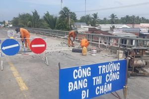 Nhiều tuyến quốc lộ qua Kiên Giang hư hỏng nặng