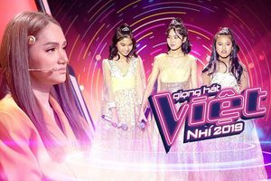 Fan The Voice Kids tranh cãi khi Hương Giang xếp Linh Đan - Thanh Tâm - Bảo Hân thi Đối đầu?