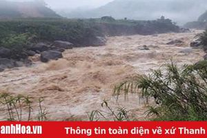 Cảnh báo lũ quét và sạt lở đất tại Thanh Hóa