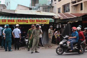 Bị đòi đất và rào chợ Bình Hòa tại TPHCM, tiểu thương hoang mang