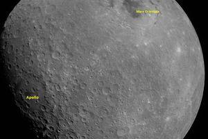 Ấn Độ công bố hình ảnh đầu tiên của sứ mệnh mặt trăng