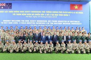Thủ tướng: Việt Nam mong muốn cùng các nước bảo đảm hòa bình thế giới
