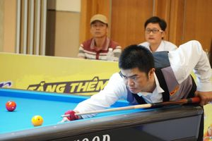 Nguyễn Quốc Nguyện chia tay giải Billiards Survival 3C Masters Istanbul 2019