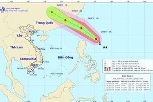 Mưa dông tại Hà Nội do ảnh hưởng từ bão Bailu