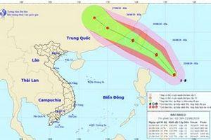 Xuất hiện bão Bailu giật cấp 11 gần biển Đông, Bắc Bộ mưa to