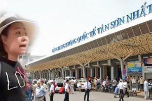 Đình chỉ công tác nữ Đại úy công an thóa mạ nhân viên sân bay Tân Sơn Nhất