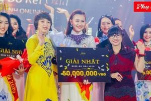 Danh hiệu Miss Áo Dài 2019 qua ảnh đã thuộc về người đẹp Trương Thị Ngọc Thảo