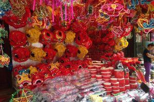 Lên phố Hàng Mã đón 'Trung thu sớm' với những món đồ chơi truyền thống