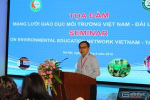 Trao đổi, chia sẻ các ý tưởng giáo dục môi trường của Việt Nam và Đài Loan