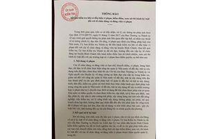 TP.HCM: Kỷ luật hàng loạt cán bộ Bình Chánh vì sai phạm đất đai