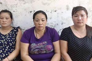 Bắt ba 'nữ quái' mua bán người ở Nghệ An
