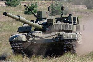 Bất ngờ với phiên bản xe tăng T-72 được trang bị tới 3 khẩu pháo