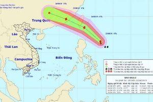 Tin mới nhất cơn bão Bailu gần Biển Đông