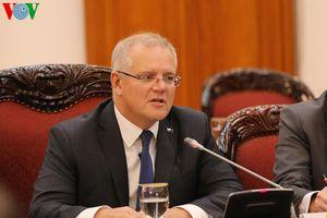 Thủ tướng Nguyễn Xuân Phúc đón và hội đàm với Thủ tướng Australia