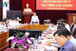 Lai Châu giảm 130 tổ chức, đơn vị do giải thể, sáp nhập