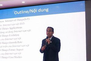 'Việt Nam ứng dụng IoT mạnh nhất trong giao thông, dịch vụ công cộng và nông nghiệp'