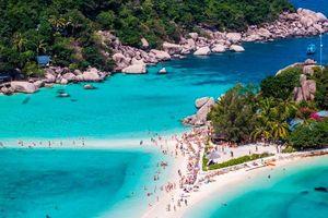 Con đường nối liền 3 hòn đảo hút khách ở Thái Lan