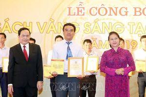 Công bố Sách vàng Sáng tạo Việt Nam năm 2019