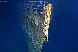 Lần đầu tiên, sau 14 năm các chuyên gia nhìn thấy những gì còn lại của tàu 'Titanic' ở dưới đáy đại dương