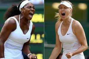 Tâm điểm ngày đầu quần vợt Mỹ mở rộng: Đại chiến Serena Williams và Maria Sharapova
