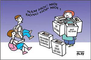 Quảng Nam chấn chỉnh tình trạng lạm thu trong trường học