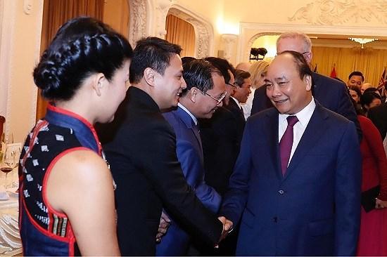 Lãnh đạo Tập đoàn TMS dự tiệc chiêu đãi cùng Thủ tướng Úc