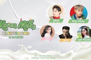 Nhiều ca sĩ hội tụ trong chương trình 'I like it, Korea Milk' tại Hà Nội