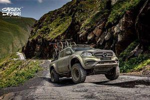 Chiêm ngưỡng vẻ đẹp của bán tải Mercedes-Benz X-Class độ phong cách off-road