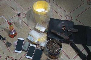 Bắt giữ đối tượng tàng trữ ma túy và súng quân dụng tại nhà riêng